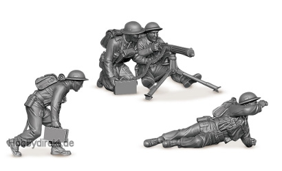 1:72 Brit.Maschinengewehr m.Crew 1939-42 Carson 786167 500786167