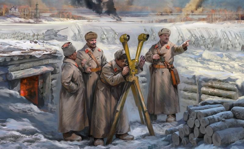 1:72 Soviet HQ Winter Carson 786231 500786231