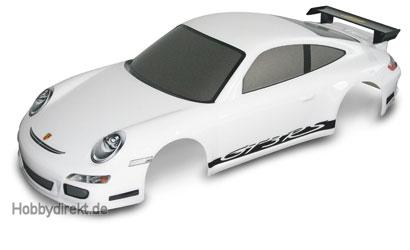 1:10 Kar.Satz Porsche 911 GT3 weiß+Dekor Carson 800059 500800059