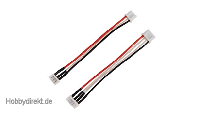Adapterkabel-Set 2/3Z EHR-St./XHP-Buchse Carson 906103 500906103