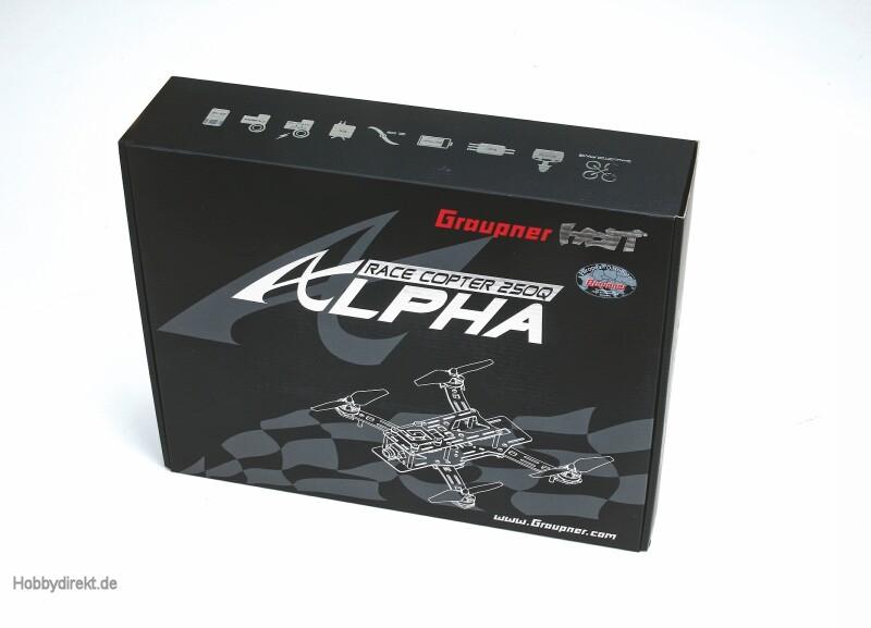 RACE COPTER ALPHA 250Q FPV Graupner 16520.FPV