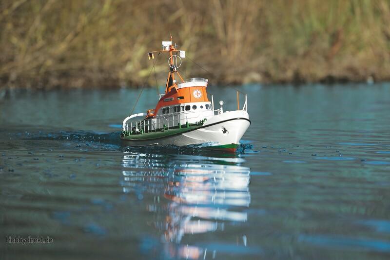 WP THEODOR HEUSS Seenotrettungskreuzer Graupner 2013