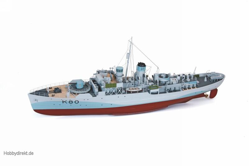 WP H.M.S BLUE BELLPremium L.RC Schiff Graupner 2200
