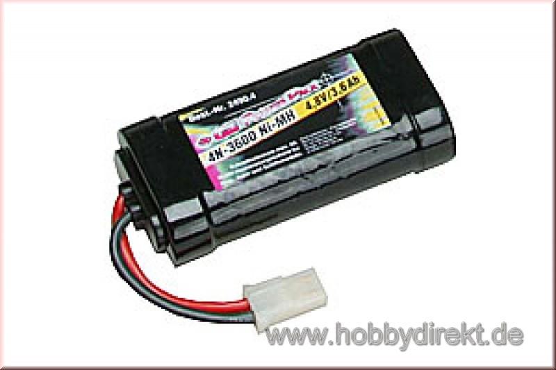 GM Power Pack 36004N-3600 4,8V G2 Graupner 2490.4