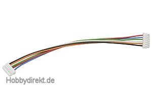 Sensorkabel 11cm GM-Genius/BL 8pol./6pol Graupner 2894.4