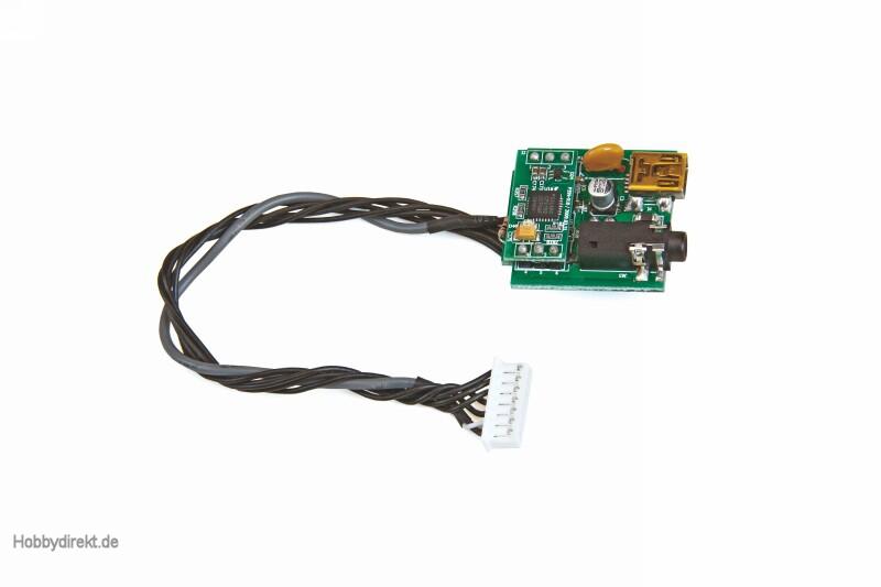 Sprachausgabe-/USB-Modul f. mx-12 HOTT#33112 Graupner 33001.71