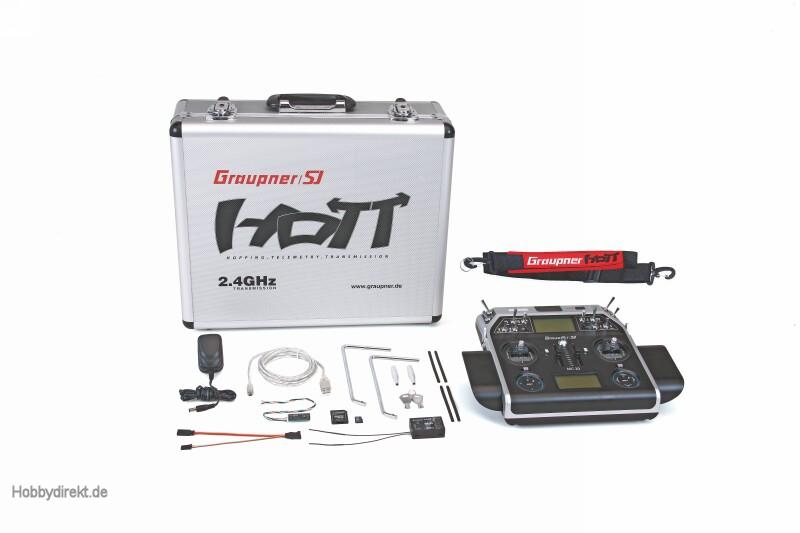 MC-20 Graupner/SJ HoTT Fernsteuerung 2,4 GHz Graupner 33020
