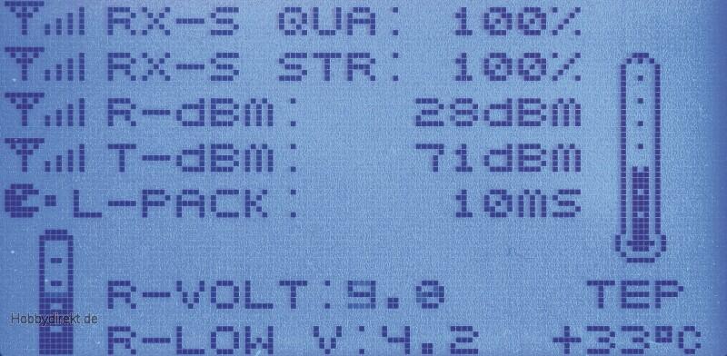 MX-12 Graupner HoTT Computersystem 2,4GHz Graupner 33112.FR.G