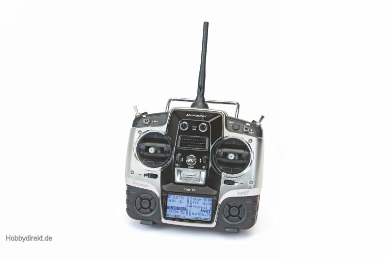 MX-12 - niederl.   2GR-18 + 3x Graupner 33112.NL.G