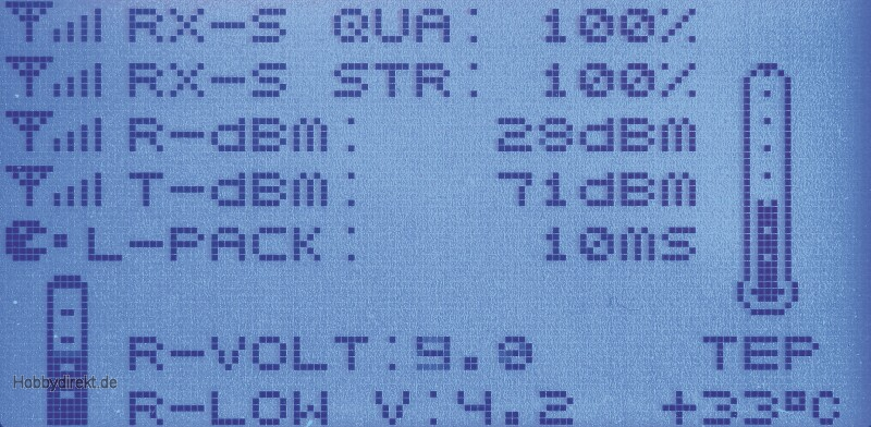 MX-12 Graupner HoTT Computersystem 2,4GHz Graupner 33114.ES