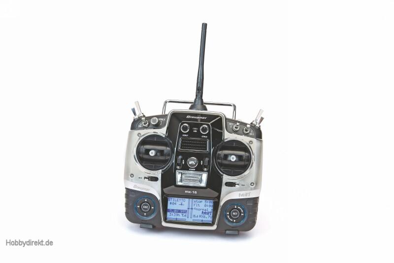 MX-16 HoTT ital.+ GR-18 +3xG + Graupner 33116.IT.G