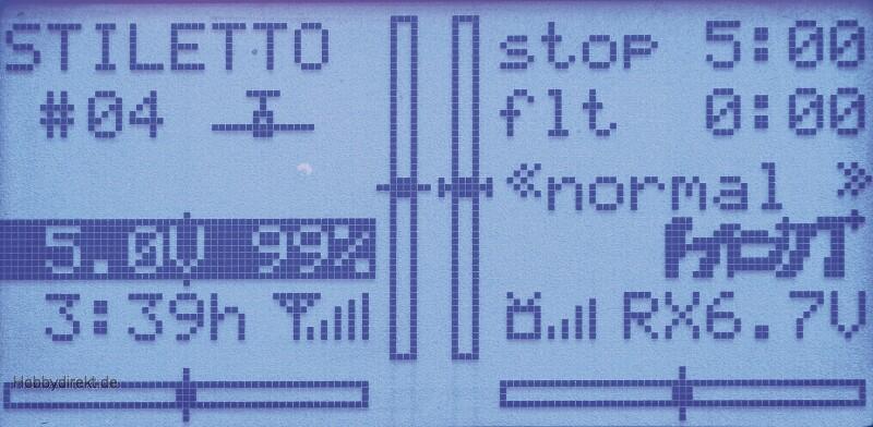 MX-20 Graupner HoTT Computersystem 2,4GHz Graupner 33124.FR.G