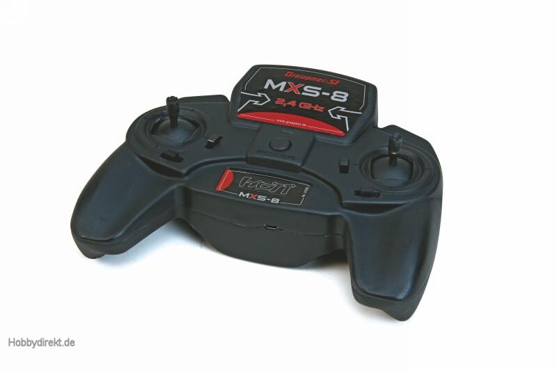 MXS-8 Graupner HoTT Computersystem 2,4GHz Graupner 33200.77