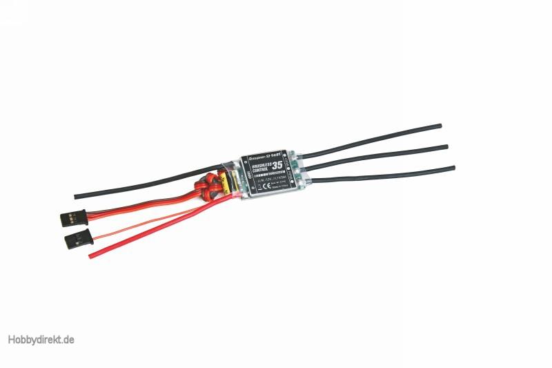 Regler BRUSHLESS CONTROL + T 35 G3,5 Graupner 33735