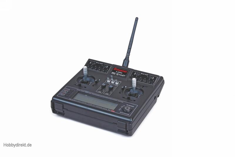 MC-19 COMPUTERSYSTEM2.4 GRAUPNER HoTT Graupner 4758