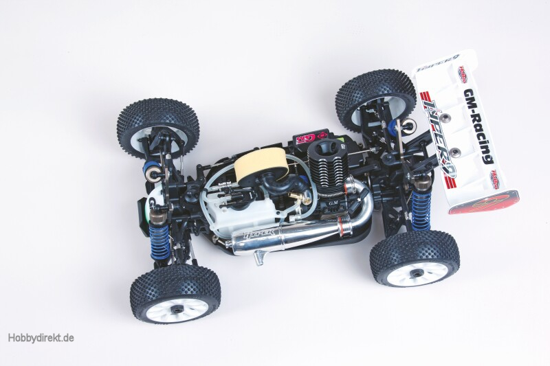 WP HYPER 9 RTR 4WD BUGGY MIT Graupner 90049.RTR