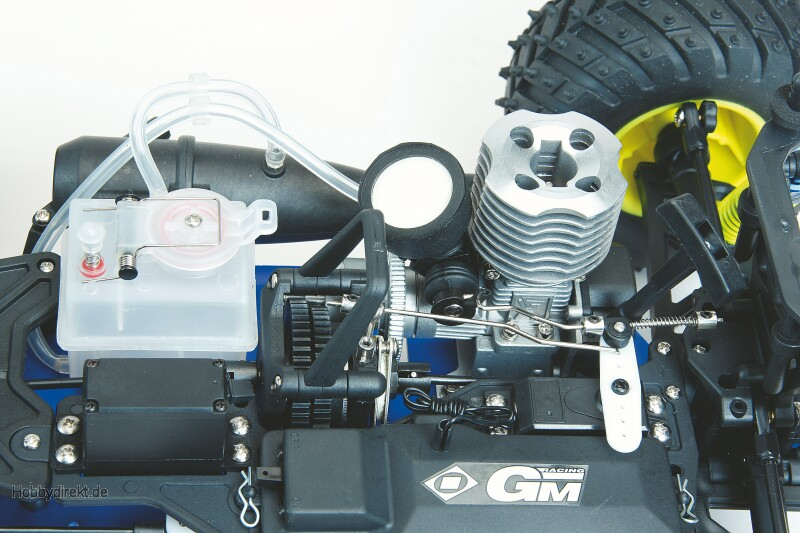 WP RADICATOR NITRO TRUGGY 4WD M. RC 1/10 Graupner 90507.RTR