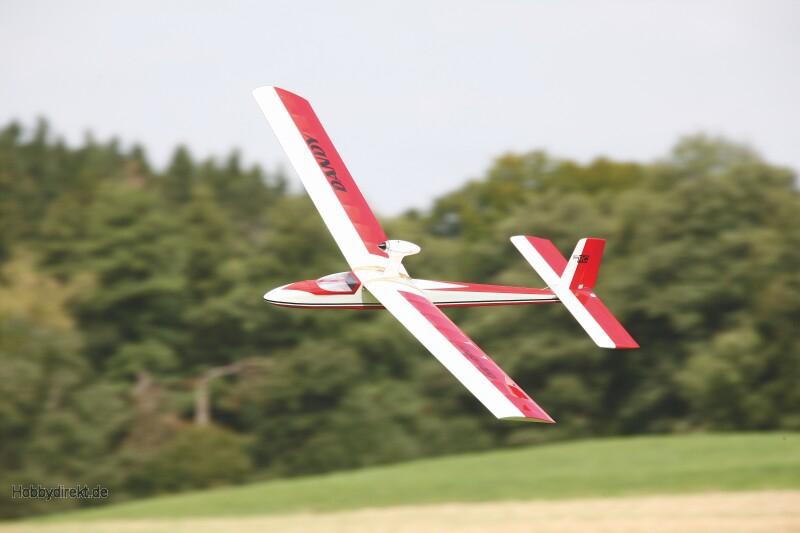 WP DANDY ARTF 1600RC Segelflugmodell Graupner 9502