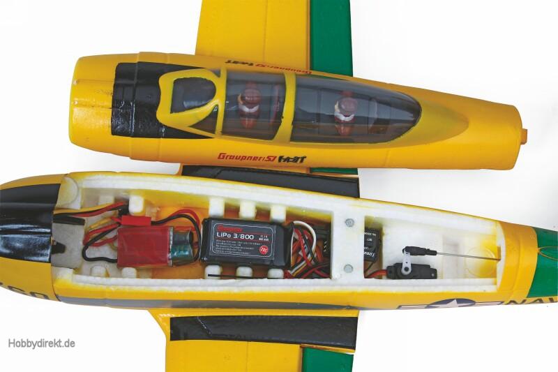 WP T-28 RFH 650 RCElektro Flugmodell Graupner 9926.HOTT