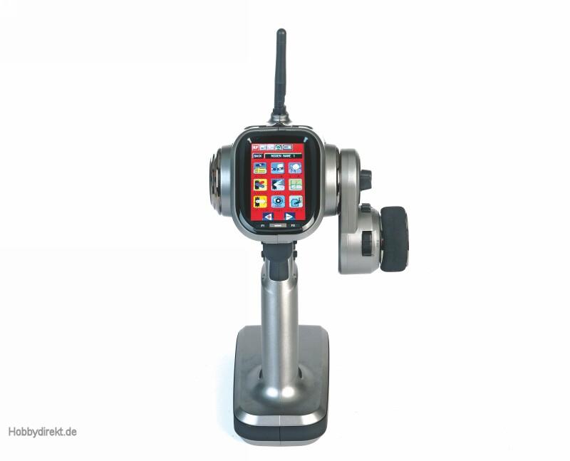 X-8E 4 channel HoTTColt radio Graupner S1008