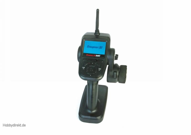X-8N,  4 channel HoTT radio co Graupner S1018.IT