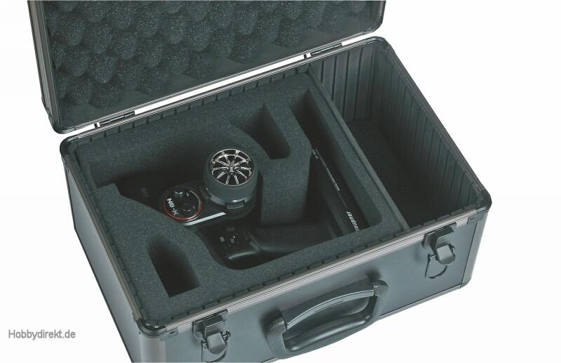Alu-Senderkoffer fürX-8N Graupner S8395