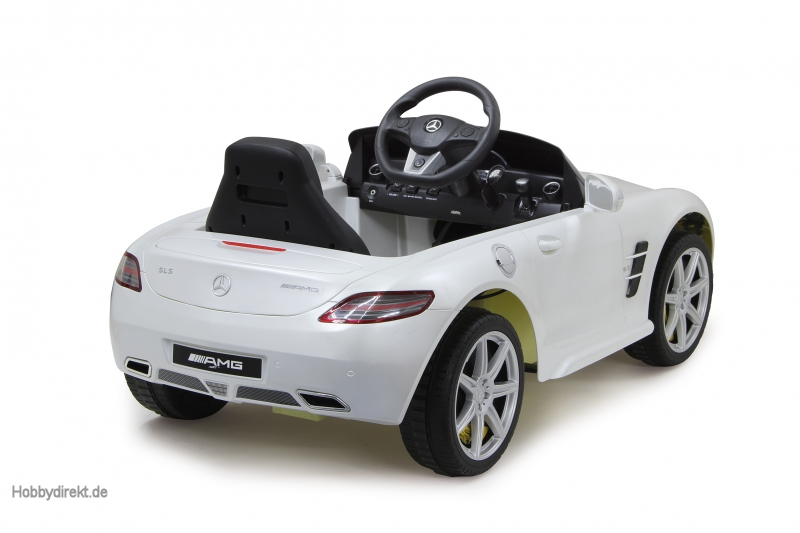 ride on mercedes benz sls amg jamara 404610 4042774367534 hobbydirekt. Black Bedroom Furniture Sets. Home Design Ideas