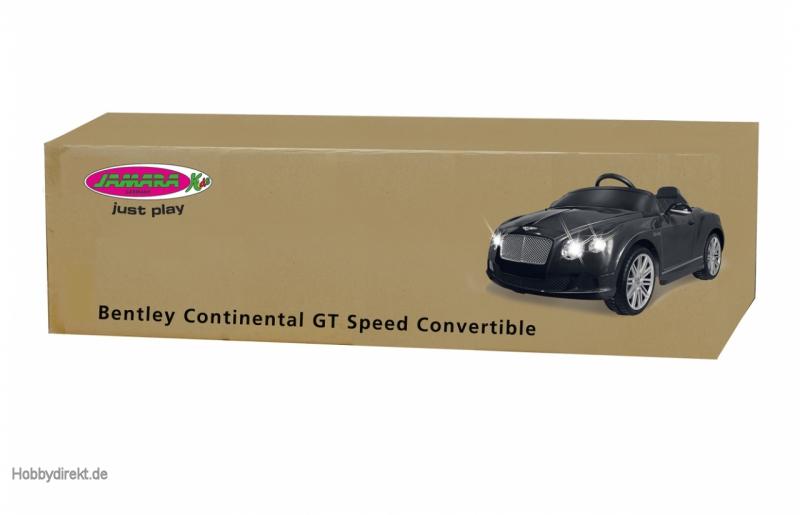 Ride-on Bentley GTC schwarz 27Mhz 6V Jamara 405015