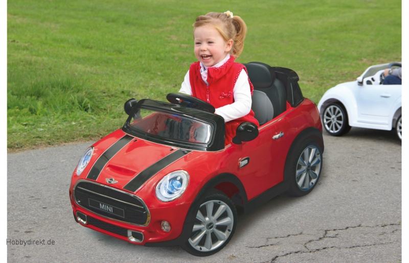 460236 Kinderfahrzeuge Jamara Ride-on Mini rot 12V Nr