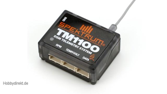 Spektrum TM1100 DSMX Fly-By Aircraft Telemetry Module Spektrum SPM9549C Sonderposten