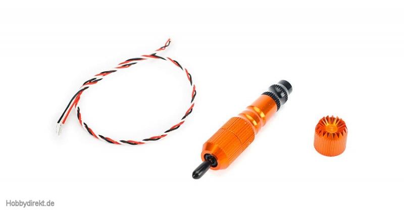 Spektrum Steuerknüppel 52 mm mit 3-Wege-Schalter, orange: DX10t