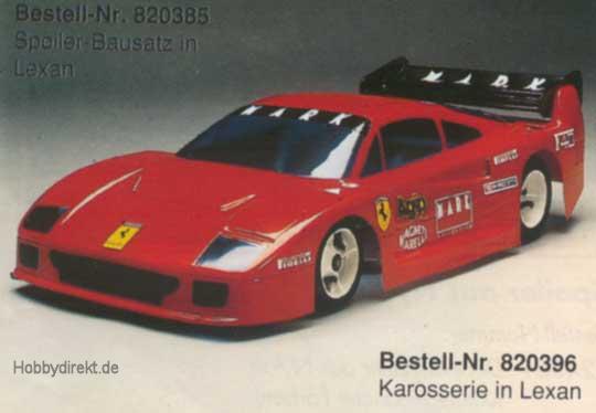 Spoiler Ferrari F 40 Krick 820385 Hobbydirekt Modellbau E K