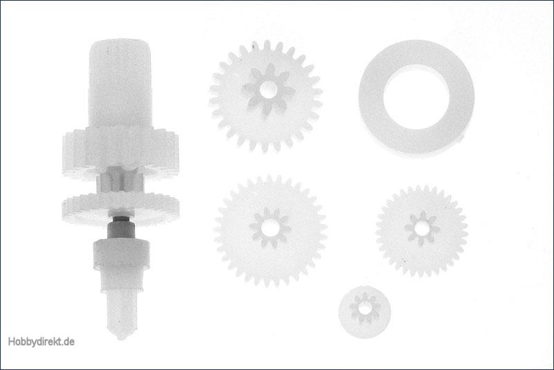 Hype 080-63034 Getriebe-Zahnräder für IQ-610MG Digital