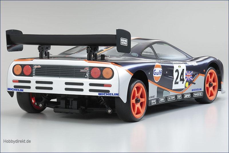 1:10 EP 4WD McLaren F1-GTR Gulf Fazer Kyosho 30905