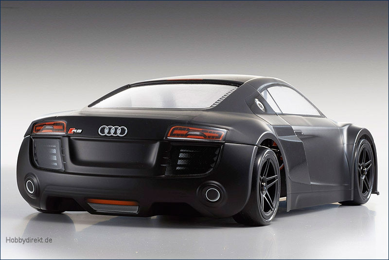 1:10 EP Fazer Audi R8 Matte Black VE Kyosho 30916