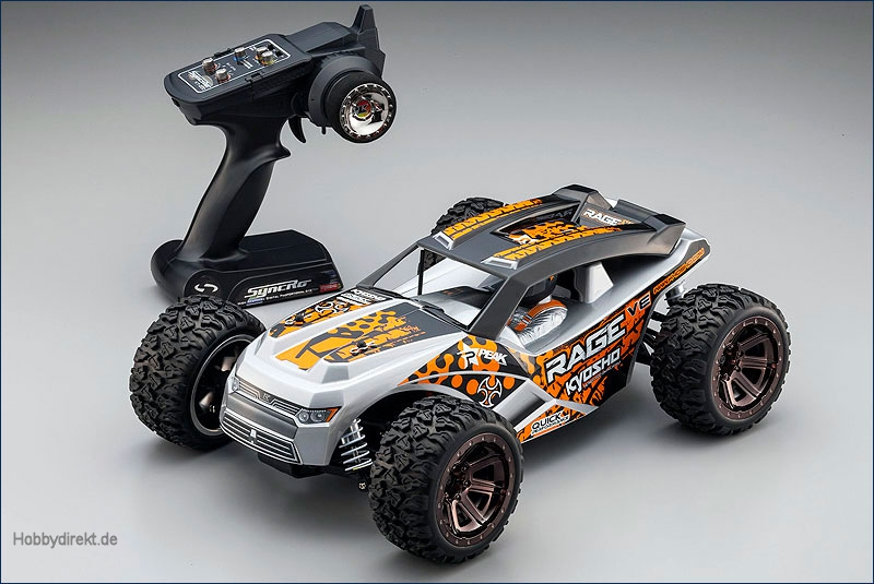 1:10 EP 4WD Rage VE Kyosho 30992T1