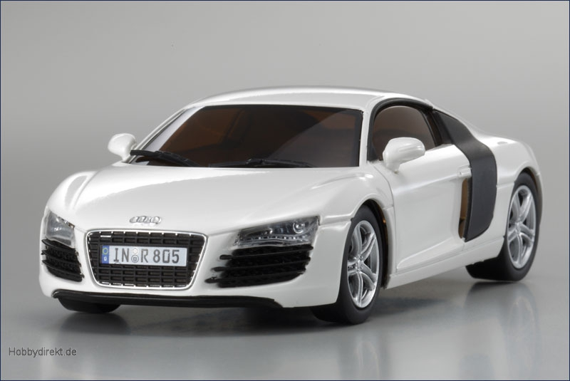 dnano audi r8 2006 weiss kyosho 32507w 4548565130979 hobbydirekt. Black Bedroom Furniture Sets. Home Design Ideas