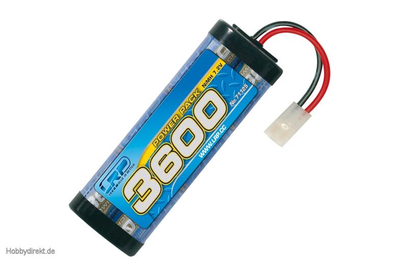 LRP Power Pack 3600 - 7.2V - 6-Zellen LRP 71125