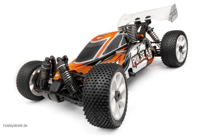 HPI Pulse Karosserie (klar/mit Decals) hpi racing H101471