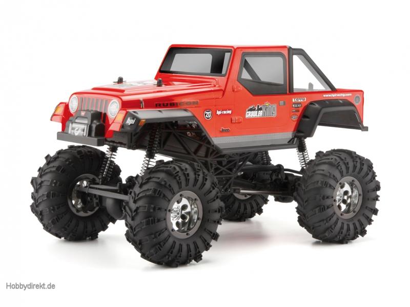 Crawler King RTR Jeep Wrangler Rubicon hpi racing H102117