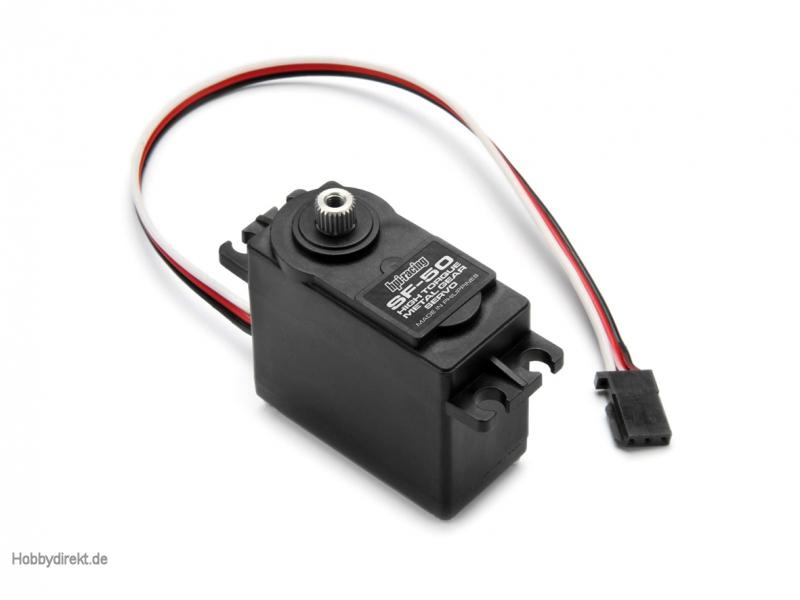 HPI SF-50 Servo (Metallget./12kgcm/6.0V) hpi racing H102777
