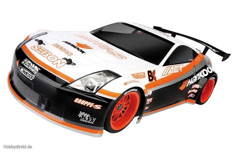 Nissan 350Z Hankook Karosserie (200mm) hpi racing H103886
