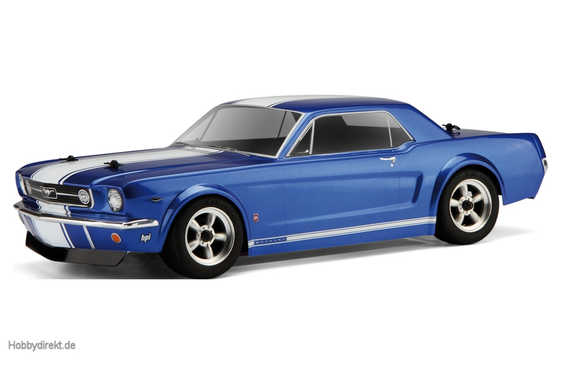 Ford Mustang GT Coupe 1966 Karo (200mm) hpi racing H104926