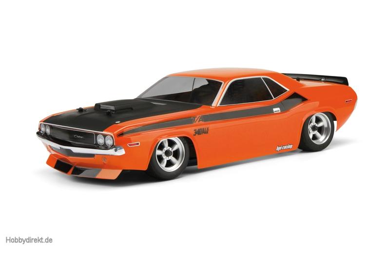 Dodge Challenger 1970 Karosserie (200mm) hpi racing H105106
