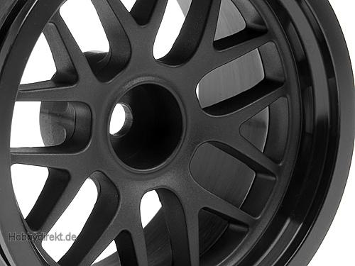 BBS Felge 48x31mm schwarz (9mm Off/2St) hpi racing H109156