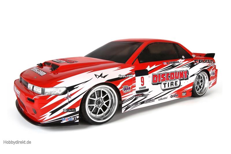 E10 Drift RTR Discount Tire Nissan S13 hpi racing H109291