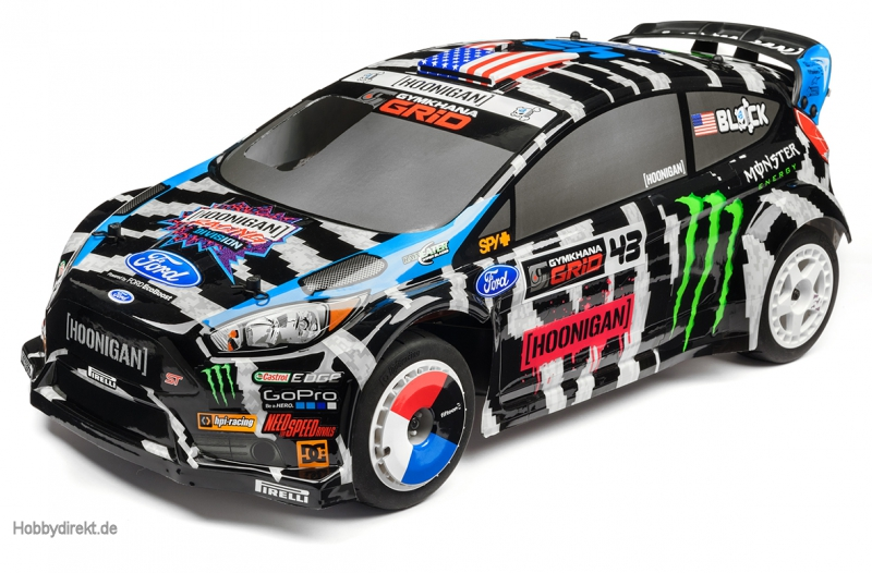 WR8 3.0 Ken Block 2014 Gymkhana Fiesta hpi racing H114187
