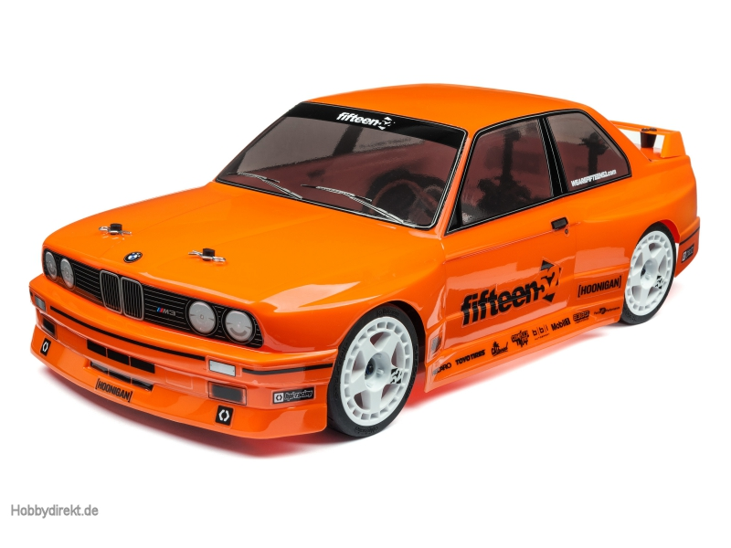 BMW M3 E30 Karo (orange lackiert/200mm) hpi racing H114645