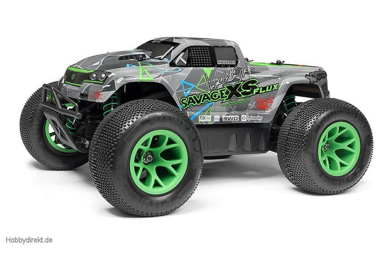 Savage XS Flux RTR mit Vaughn Gittin Jr. Karosserie hpi racing H115967