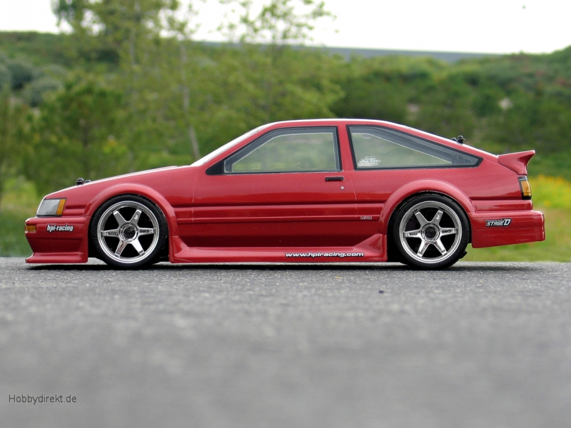 Toyota Levin AE86 Karosserie (190mm) hpi racing H17214